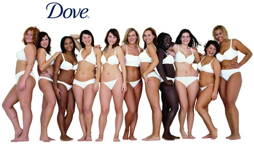 Dove real body campaign