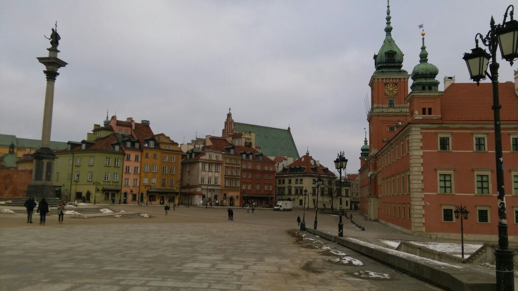 Reconstructed Center of Warsaw