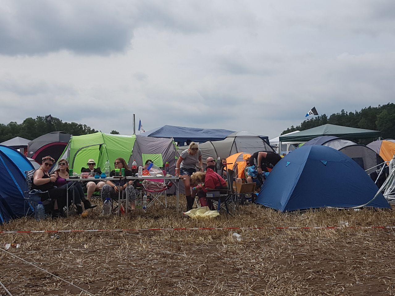 Camping Hurricane 2017