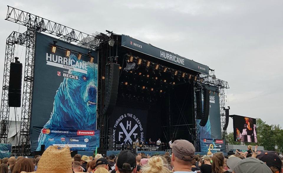 Frank Turner - hurricane festival 2017