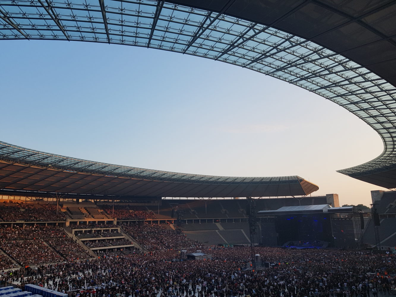 Lovely day at the Olympiastadion