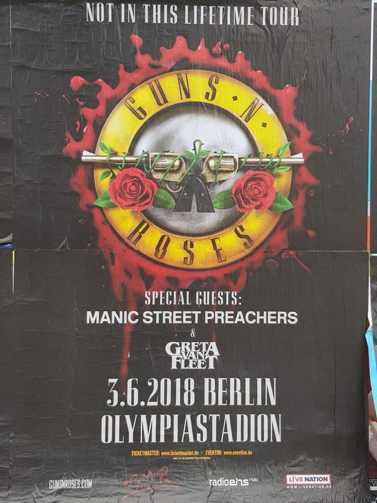 Guns N Roses - Berlin 2018